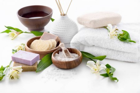 Spa setting treatment