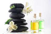 Zen stones and essential oils