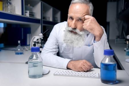 senior scientist at workplace