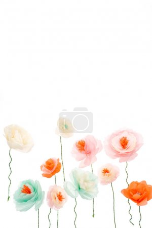 colorful decorative flowers
