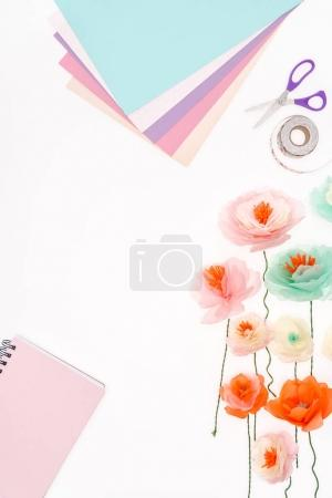 flowers and stationery items