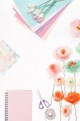 """Постер, картина, фотообои """"декоративные цветы и Канцелярские товары"""""""