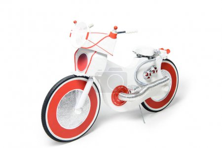 Electric bike created from foi