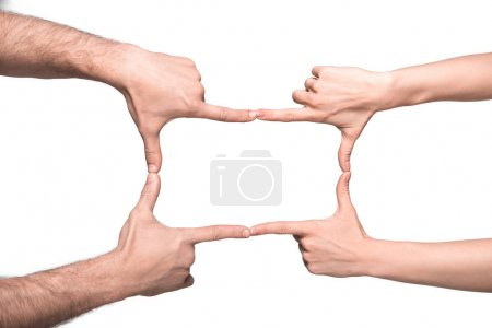Hands frame