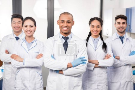 Team of professional doctors