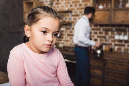bored little child