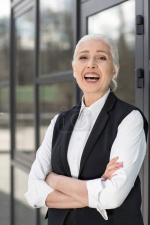 Confident senior businesswoman