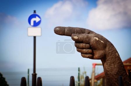 Big Wooden hand