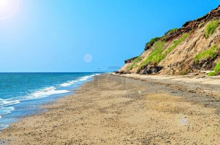 afternoon sea beach