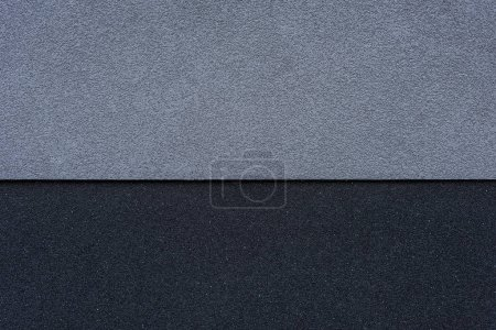 Photo for Gray and black horizontal wall background - Royalty Free Image