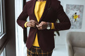 fashionable man in jacket