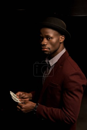 rich african american man