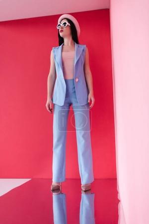 beautiful stylish young woman