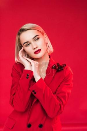 tender stylish girl