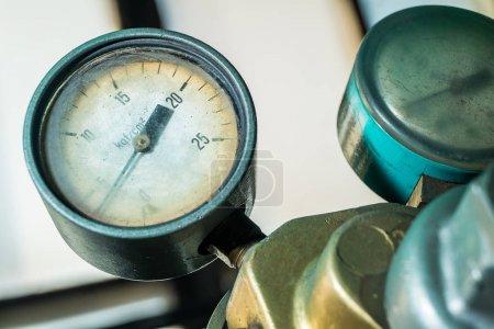 bars pressure sensor on the machine