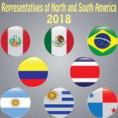 Representatives of North and South America Football 2018
