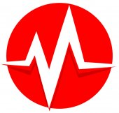 pulse beat heartbeat icon