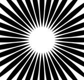 Radial rays beams abstract background