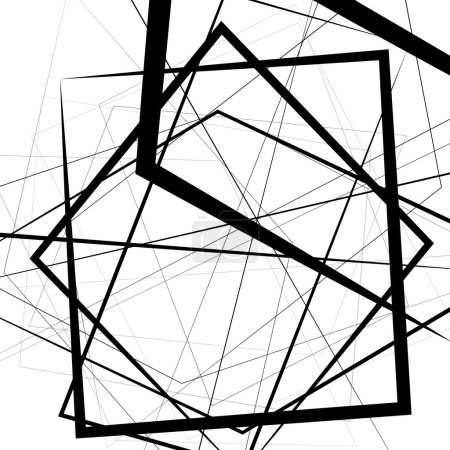 geometric abstract lines background