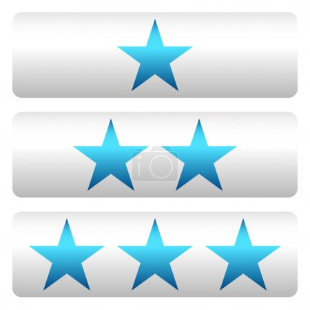Star rating panels set