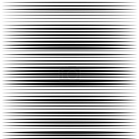 Parallel straight lines pattern