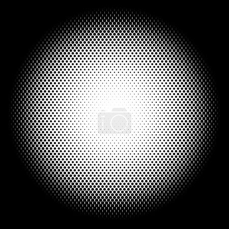 Circle halftone pattern