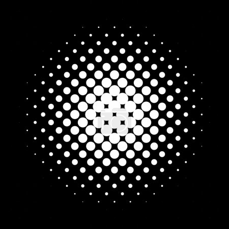 Circle halftone pattern / texture