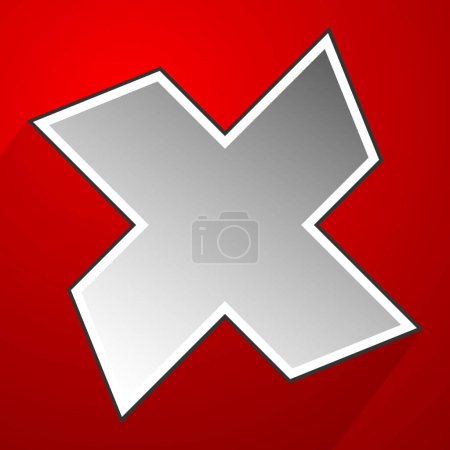 Cross, X symbol