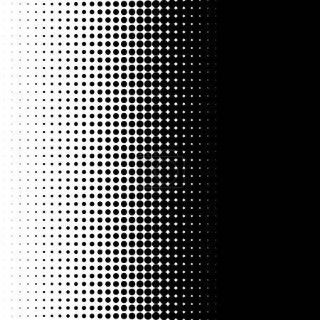 Vertical half tone pattern