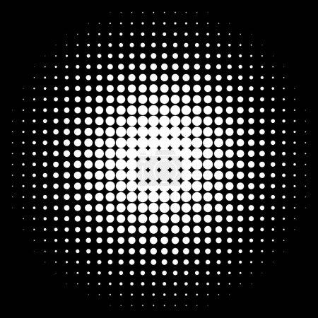 halftone dots pattern