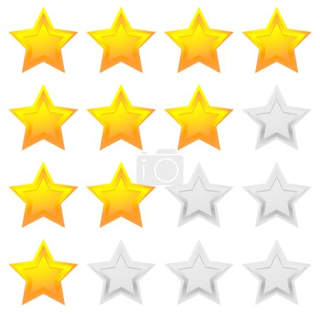 Star icons for rating
