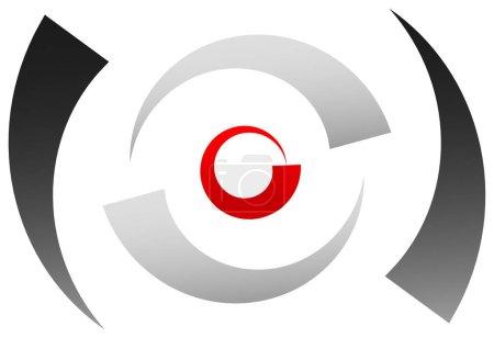 Crosshair icon, target symbol.