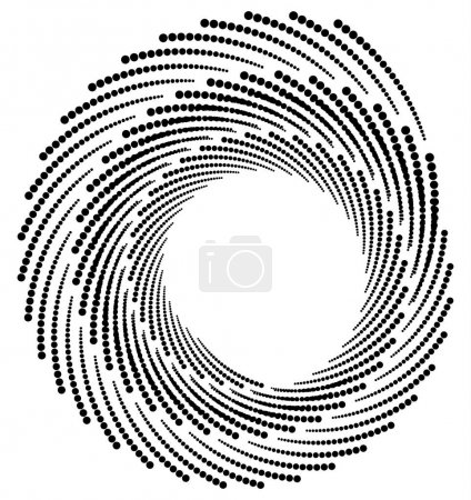 Circle halftone pattern.