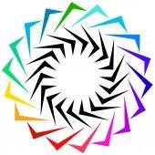 Geometric shape as logo or design element