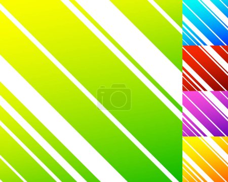 Colorful pattern with  dynamic lines