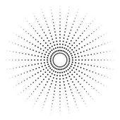 Abstract circular element
