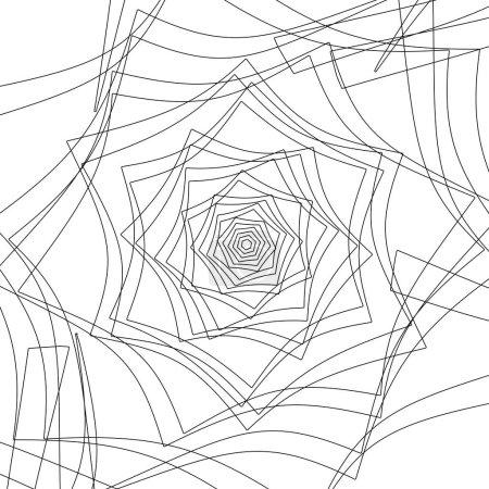 spiral lines pattern