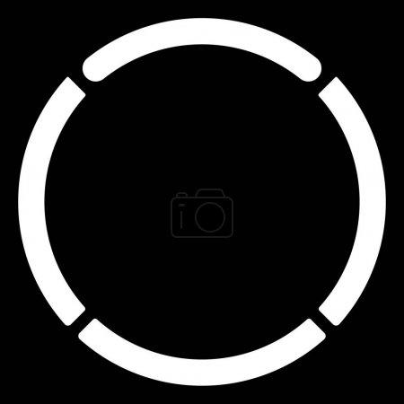 Segmented circle symbol