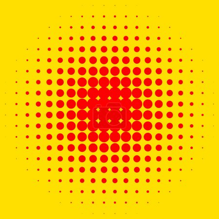 Popart halftone pattern