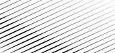 Slanting oblique geometric pattern