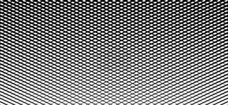 Irregular grid, mesh pattern