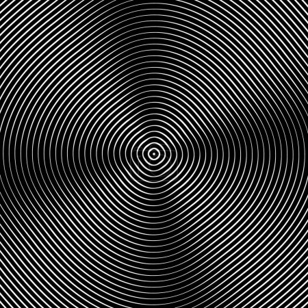 monochrome texture of concentric rings