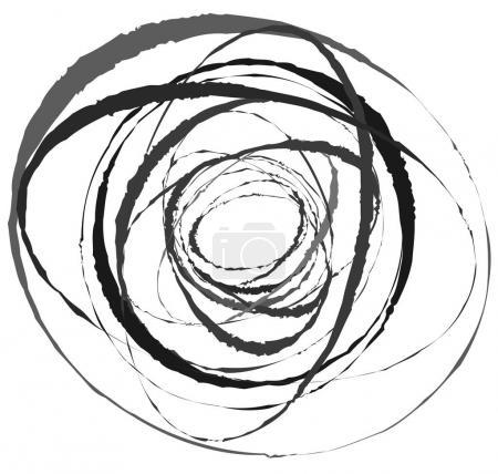 Geometric hypnotic vortex.