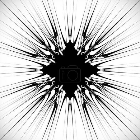 circular abstract pattern