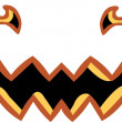 Pumpkin Halloween Smile Face Party...