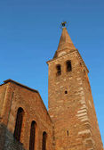 Bell tower of the church f St. Euphemia in the city of Grado in