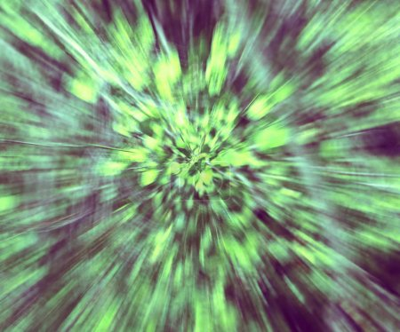 abstract intentionally blurred background looks like an explosio