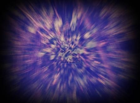blue and violet abstract background intentionally blurry