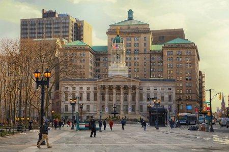 Brooklyn Borough Hall in Brooklyn, New York.