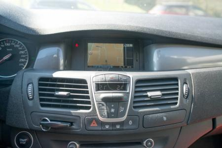 Car Radio and GPS in